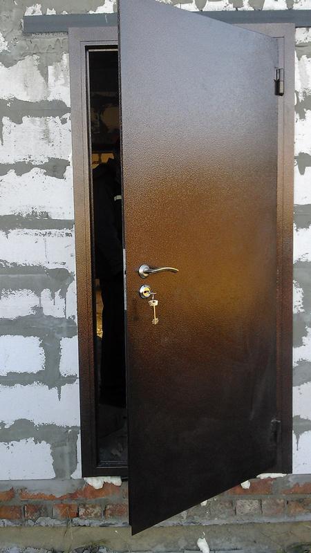 Двери железные утеплённые своими руками